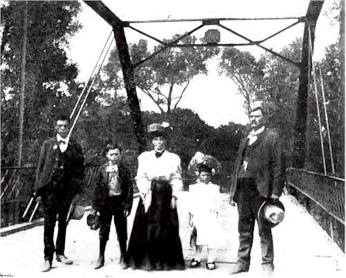 The Puckett Family at Big Jake Crossing